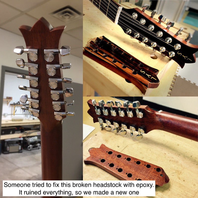 Guitar repair ottawa oct 2017 1