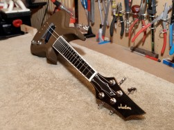 A custom made electric Mandolin for the Acoustic music co. in England