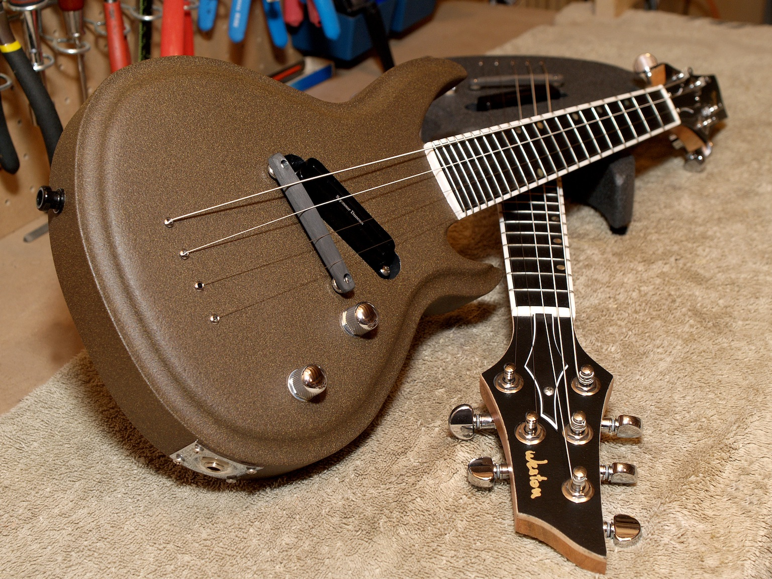 electric mandolin cedar neck 15