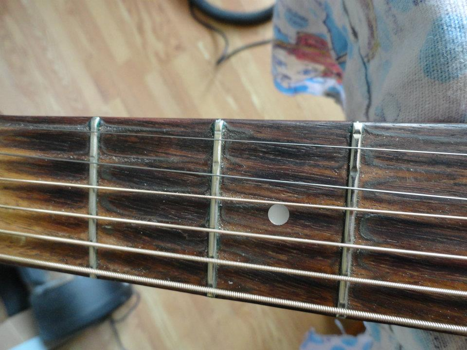 serious guitar repair - Refret